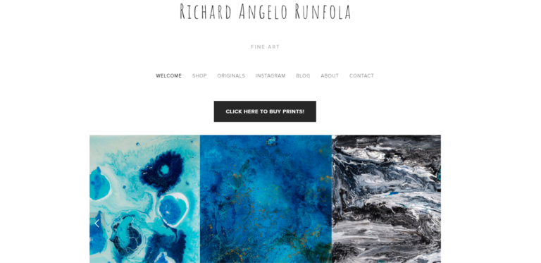 Richard-Angelo-Runfola-old-website-screenshot